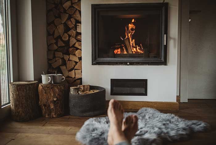Magnificent Wood Burner Conversion New Jersey Fireplaces Kjb Fireplaces Home Interior And Landscaping Ponolsignezvosmurscom